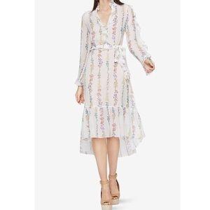 BCBG Silk Wildflower Dress
